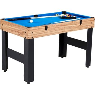 MD Sports 48 Inch 3-In-1 Combo Game Table, 3 Games with Billiards, Hockey and Foosball